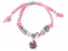 Pandorai karkötő Talizmán pink