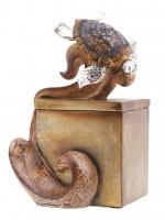 Teknős ékszerdoboz